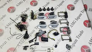 BMW E38 750i IGNITION DOORS TRUNK LOCK SET WITH 1 KEY 51228125671 51228125672