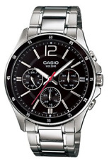 Casio  MTP-1374D-1A Multifaction  50m  Men  Black Dial   MTP1374 + Gift Box