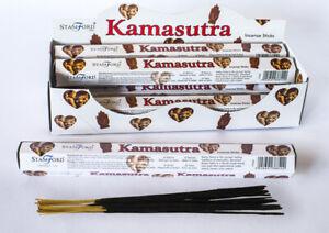 **NEW** Stamford Inc 37840 Kamasutra Hex Incense Sticks - 6 packs