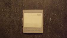 Carte Mémoire Nintendo GameCube 59 blocs