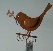 oiseau sur tige Plate-Bande Décoration de jardin terrasse Bac à fleurs oiseau
