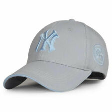 NEW Grey Unisex Men Women Baseball Cap NY Snapback Sport Hip-Hop Sun Hat