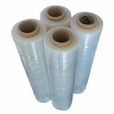 Stretch Wrap Industrial Strength 4 Pack 18 X 1000 Sq Ft 80 Gauge Thick 20 Mic