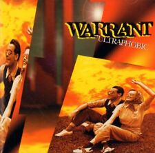 Warrant(CD Album)Ultraphobic-CMC International-CMC 7203-2-1995-New