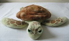 """OFFICIAL GENUINE DISNEY STORE FINDING NEMO 20"""" LONG CRUSH TURTLE SOFT PLUSH TOY"""
