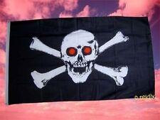Fahne Flaggen PIRAT ROTE AUGEN 150x90cm TDShop24