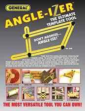 Angle-Izer Ultimate Tile & Flooring Template Tool Multi-Angle Ruler 2017 NEW