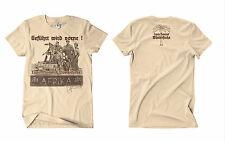 Erwin Rommel M5  Tshirt sand Deutsches Afrikakorps Wüstenfuchs Afrika WW2