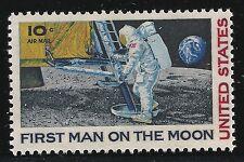 US Scott #C76, Single 1969 Air Mail 10c FVF MNH