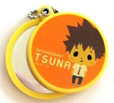 Hitman Reborn Tsuna Pocket Mirror Key Chain NEW