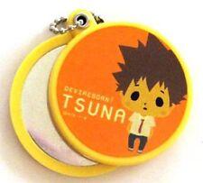 Hitman Reborn Tsuna Pocket Mirror Key Chain NEW