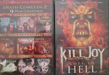 KILLJOY 1-2-3-4: Demonic Toys 1-2-3+ Gingerdead Man 1-2-3 (10 Films) NEW DVD's