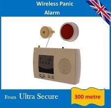 Wireless pánico Alarma (300 metros rango de funcionamiento inalámbrico)