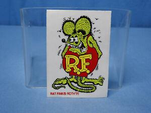 Rare! Vintage Original NOS 1991 Ed Big Daddy Roth Rat Fink Decal Hot Rod Gasser