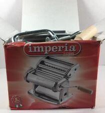 IMPERIA Dal 1932 CHROME Noodle PASTA MAKER Machine New In Box