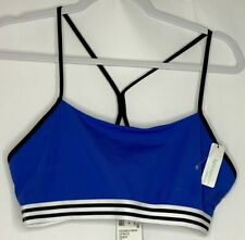 Adidas Cross-Body Sports Bra Light Support Yoga Running Size Large