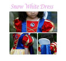 Boutique Custom Snow White Princess Dress Costume Set (SMALL)