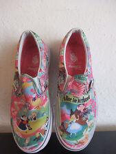 Vans Walt Disney Alice in Wonderland scarpe  EU 34,5 USA UK 2,5 USA Kids 3,5
