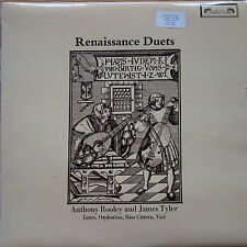 SOL 325 Renaissance Duets Anthony Rooley & James Tyler