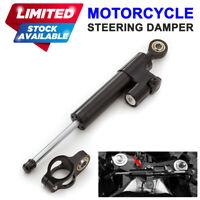 Universal Steering Dampers Stabilizer For Moto Guzzi MV Triumph Hyosung Can-Am