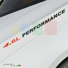 4.6L PERFORMANCE Decal sticker for Ford Explorer expedition sport light mirror