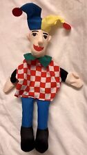 Jester mano fantoccio Fiesta Crafts NUOVO