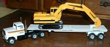 Plasterer Equipment Flatbed John Deere 690C '90 Winross Truck