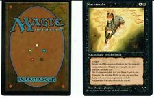 MAGIC THE GATHERING, MTG FBB NIGHTMARE / NACHTMAHR (German) ex