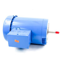 Goulds E07876S Pump Motor   1-1/2 HP 208-230/460V 3 Phase TEFC 56J