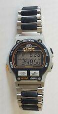 Vintage Mens Timex Ironman Triathalon Alarm Chronograph Digital Watch. 8 Lap