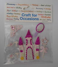 "CRAFT FOR OCCASIONS ""FAIRY CASTLE"" FOR CARDS AND CRAFTS"