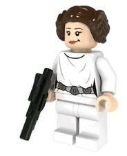 Princess Lea Minifig minifigures star Wars Compatible