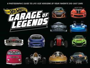 Hot Wheels Garage of Legends 75+ Life-Size Versions of Die-Cast Vehicles