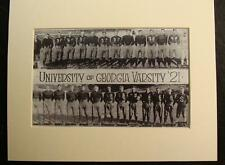 1921 UNIVERSITY OF GEORGIA VARSITY FOOTBALL TEAM, Print