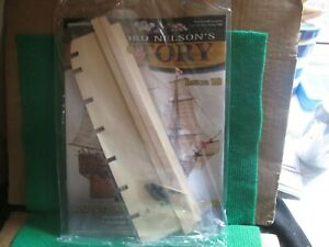BUILD LORD NELSON`S HMS VICTORY (ISSUE 18 WITH PART) 1:84 SCALE NEW