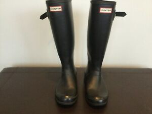 Hunter Original Women's Tall Rain Boots - Black 7