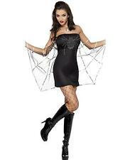 Spider Halloween Dress, Womens Fancy Dress Costume - size S (8 - 10)