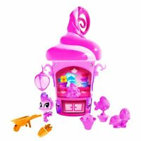 Magical Pixie House Playset Of Dragons Fairies Wizards and Accessories Pink