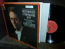 BEETHOVEN: Symphony n°7 > Chicago Giulini / EMI France stereo LP NM-