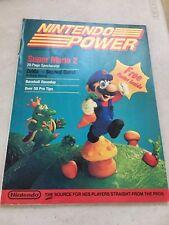 SUPER MARIO BROS 2 CHEAT NINTENDO POWER MAGAZINE BOOK GUIDE STRATEGY NES HQ