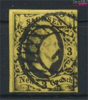 Sachsen 6 Pracht gestempelt 1851 Friedrich August (9108895