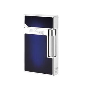 NEW S.T. Dupont - Ligne 2 (Line 2) Lighter - Atelier Sunburst Blue ST