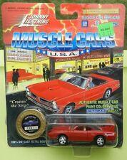 #1 RED PLYMOUTH SUPERBIRD ROADRUNNER 1995 1970 MOPAR 70 JOHNNY LIGHTNING JL