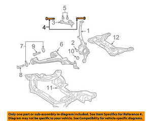 MERCEDES OEM 05-09 SL65 AMG Front Suspension-Upper Control Arm Bolt 910105010044