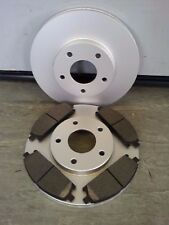 NISSAN X-TRAIL FRONT BRAKE DISCS & PADS 2001-2007 NEW COATED DESIGN