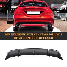 Carbon Fiber Rear Bumper Diffuser For 14-15 Mercedes Benz C117 CLA250 CLA45 AMG