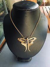 pendentif papillon laiton / butterfly brass pendant