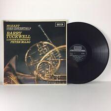 SXL 6108 Decca Mozart Horn Concertos Nos. 1-4 Tuckwell LSO Maag LP Vinyl Record
