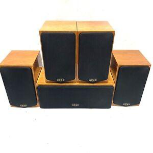 QUAD Lite Surround 4 x Satellite Speakers & Centre Speaker *Amazing Sound* VGC