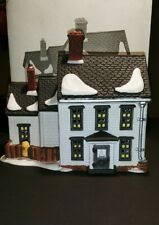 Department 56 New England Village Jannes Mullet Amish Farm House with Box